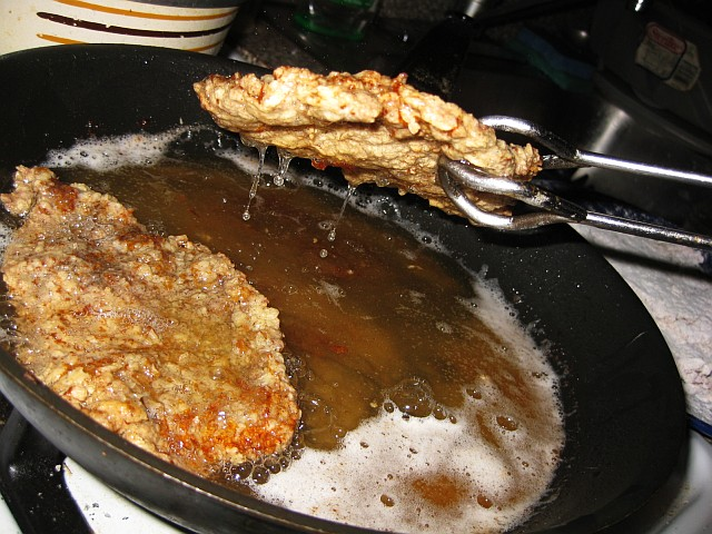 how to cook chicken fried steak in deep fryer