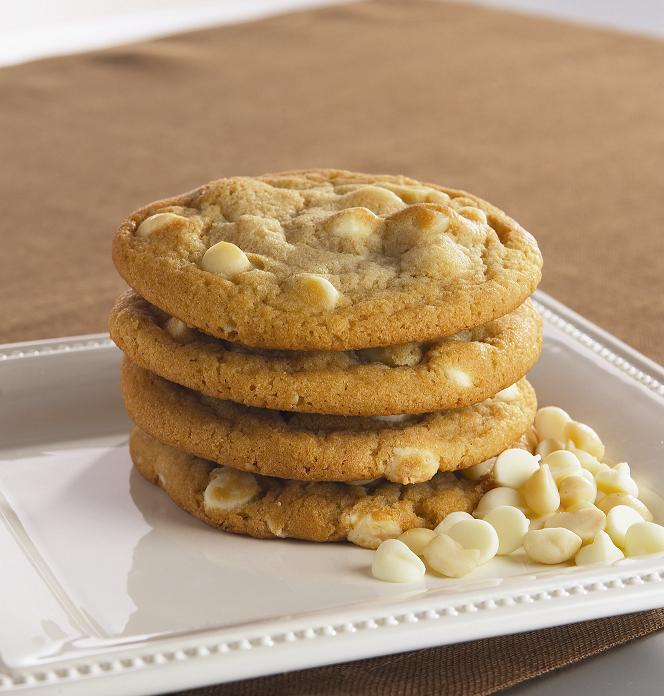 White Chocolate Macadamia Nut Cookies Recipe — Dishmaps