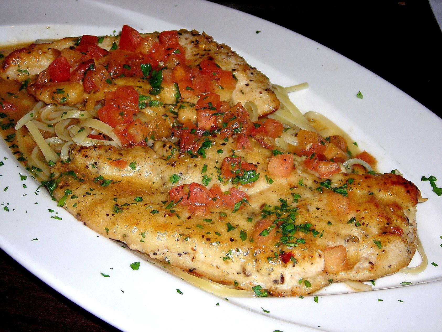 Chicken Scampi Recipes