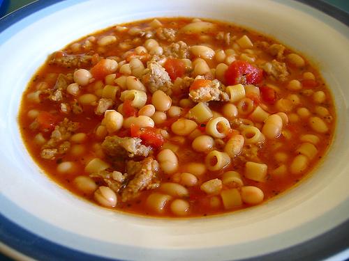 Crock Pot Pasta E Fagioli | Chella's Common Cents