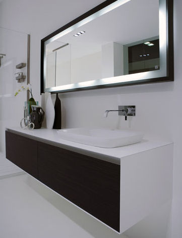 Bathroom Mirrors - Kitchen Layout and Decorating Ideas